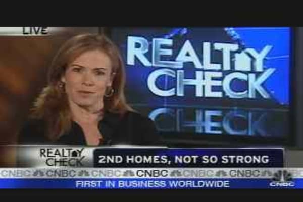 Realty Check: Second Homes