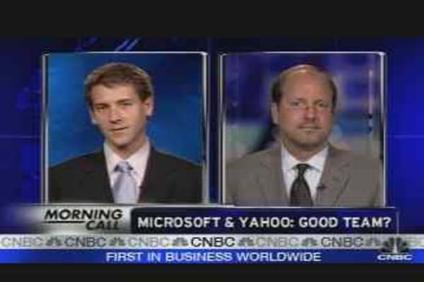 Microsoft & Yahoo: A Good Team?