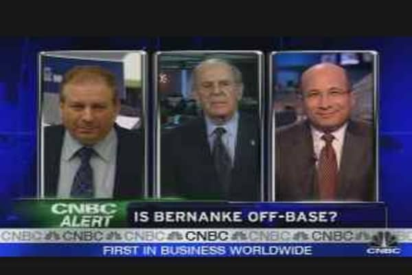 Is Bernanke Wrong?