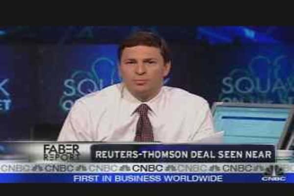 Reuters-Thomson Deal Seen Near