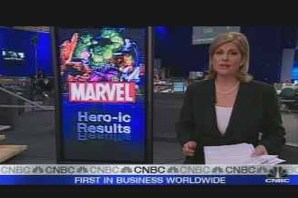 Marvel Earnings