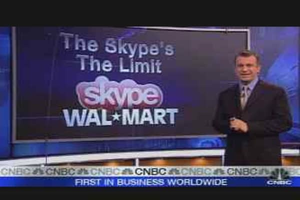 Skype to Be Sold at Wal-Mart