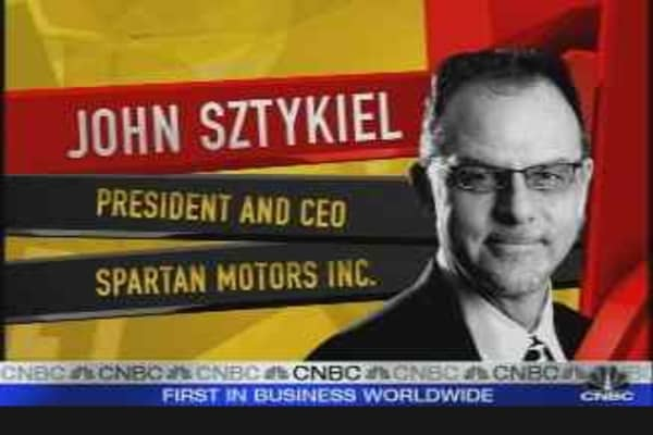 Spartan Motors CEO