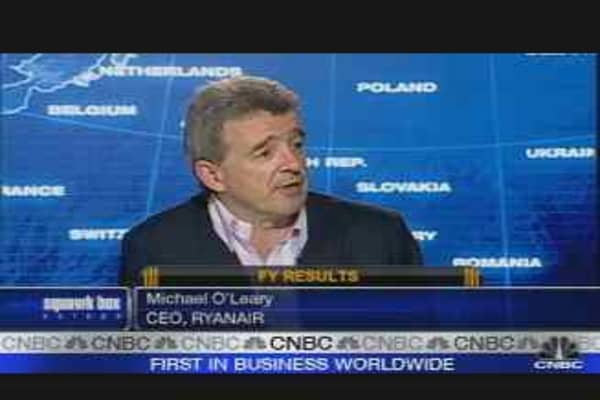 Ryanair CEO on Earnings