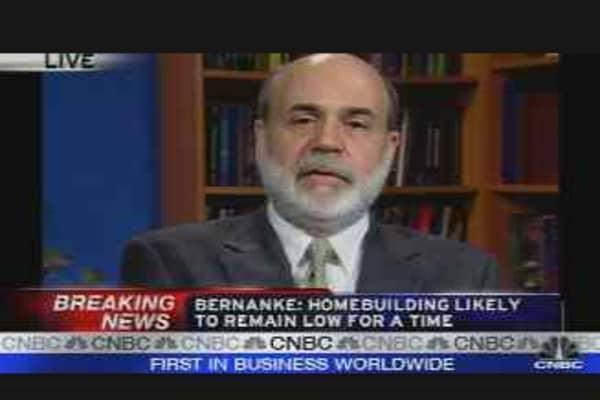 Bernanke Speaks Pt. 2