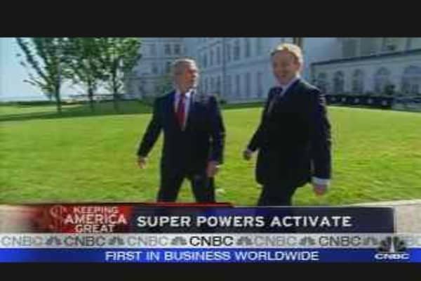 Bush and Putin Meet
