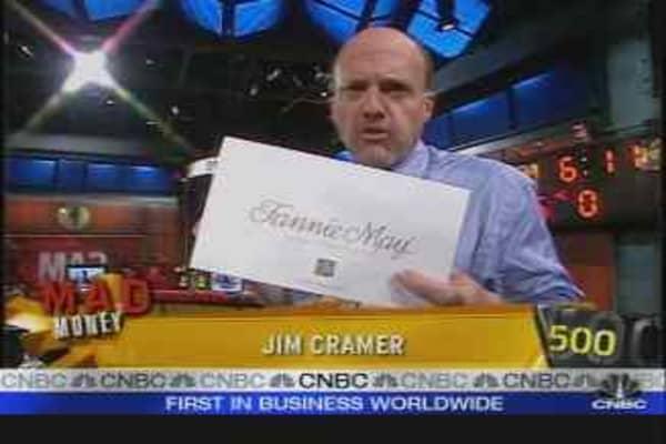 Cramer on Fannie Mae