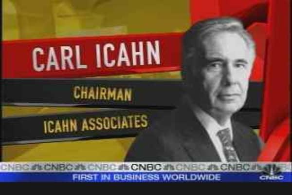 Carl Icahn Interview