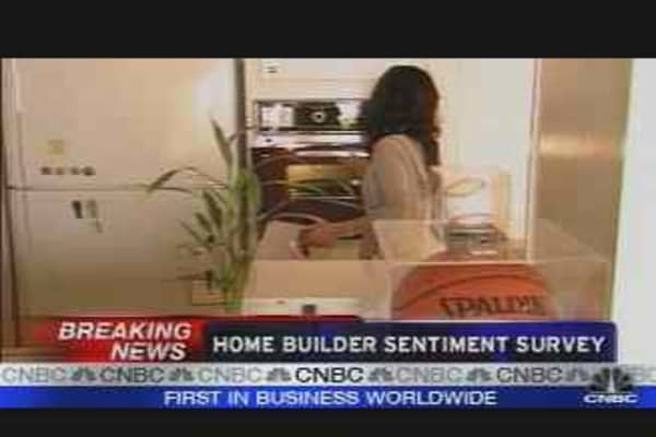 Realty Check: Builder Sentiment