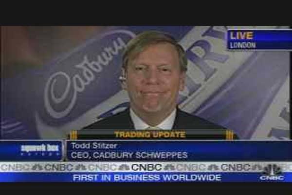 Cadbury Schweppes Trading Update