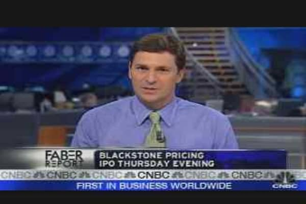 Faber Report: Blackstone IPO