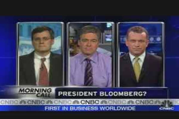 President Bloomberg?