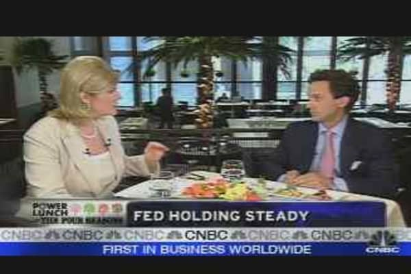 Fed Holding Steady