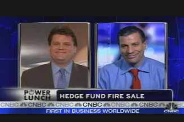 Hedge Fund Fire Sale