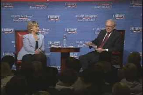 Clinton & Buffett