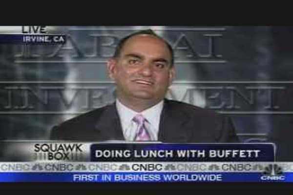 Buffett Lunch Winner