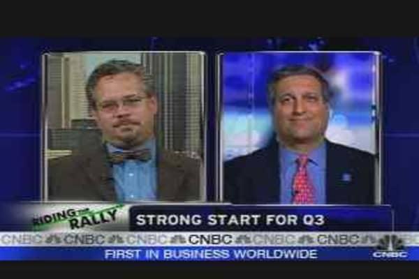 Strong Start for Stocks