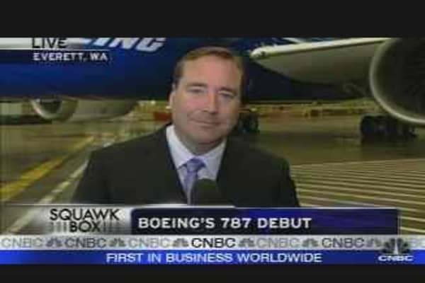 Boeing's 787 Debut