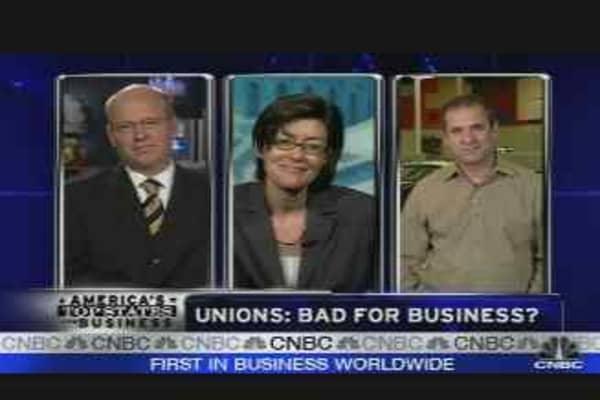 Unions: Bad for Biz?