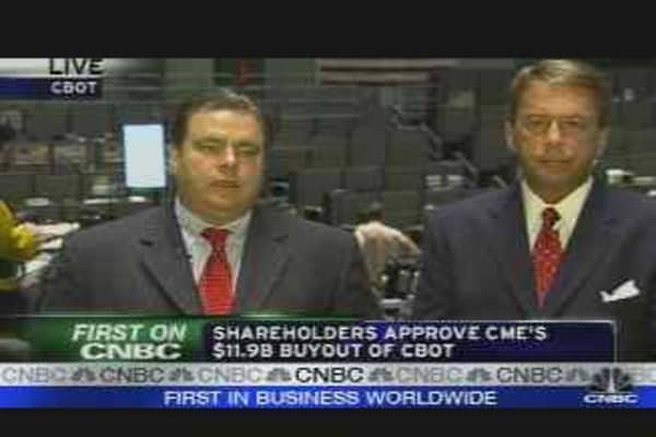 The CME Group is Born