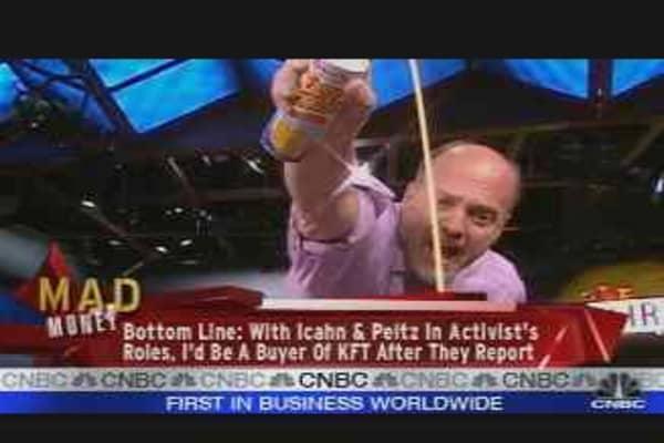 Cramer Stands Corrected: Kraft