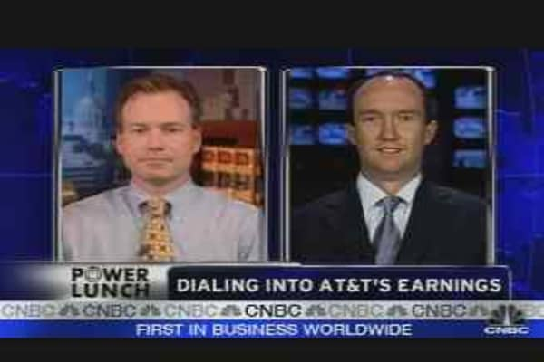 Calling AT&T's Earnings