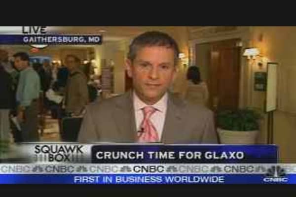 Crunch Time for Glaxo