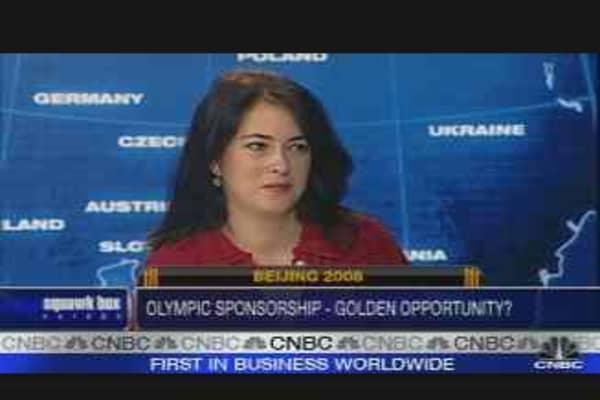 Sponsoring the Beijing Olympics
