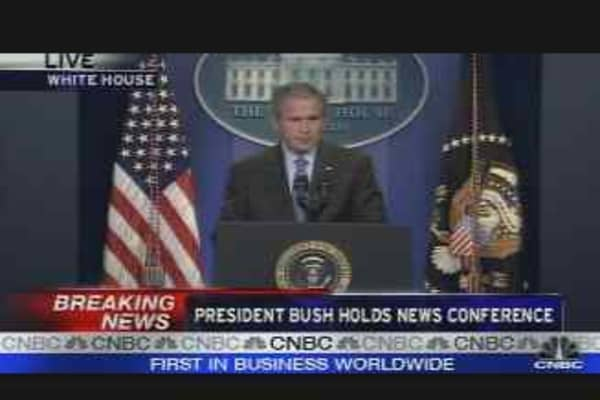 Bush on the Economy