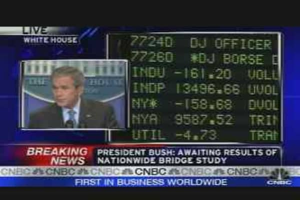 Bush on Housing & Economy
