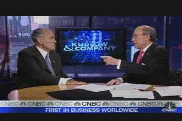 Giuliani Talks Subprime