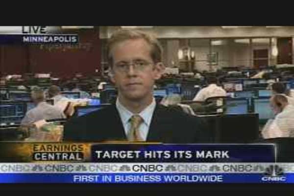 Target Hits Mark