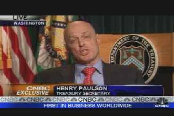 CNBC Exclusive: Henry Paulson