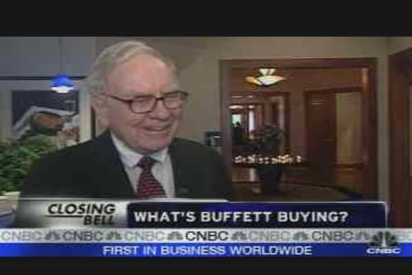 Buffett   Countrywide?