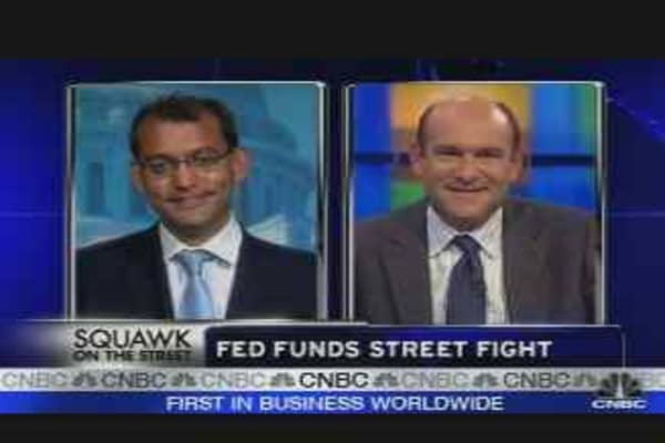 Fed Funds Fight