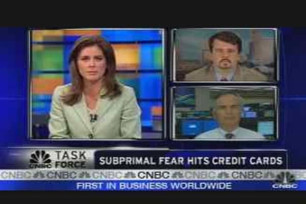 Credit Cards & the Credit Crunch