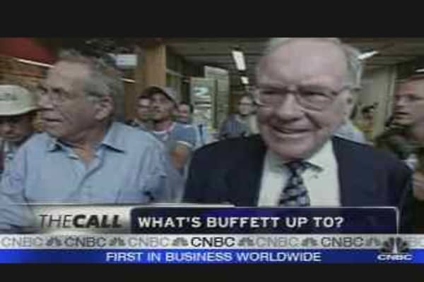 What's Buffett Up To?