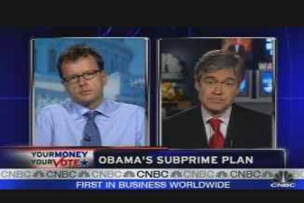 Obama's Subprime Plan