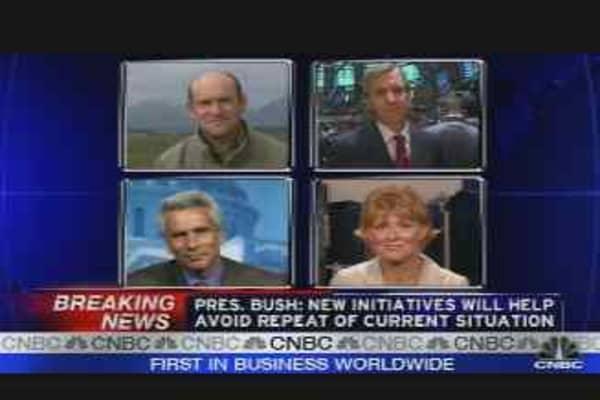 Bernanke & Bush
