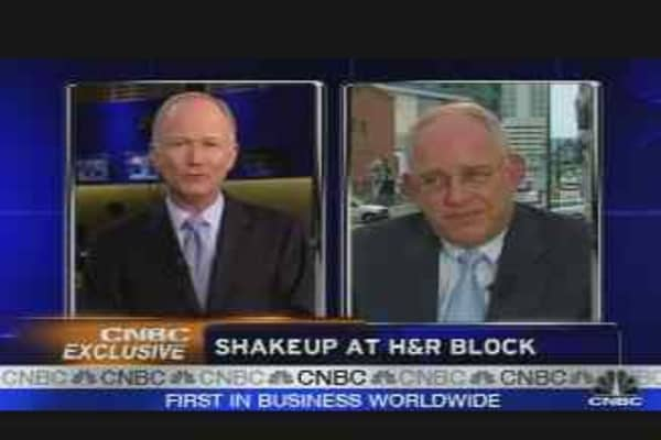 Shakeup at H&R Block