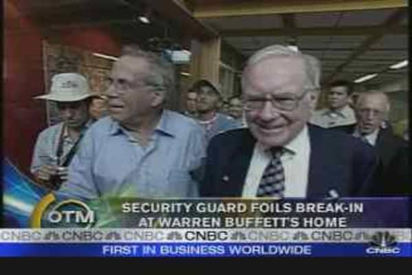 Break-in at the Buffetts