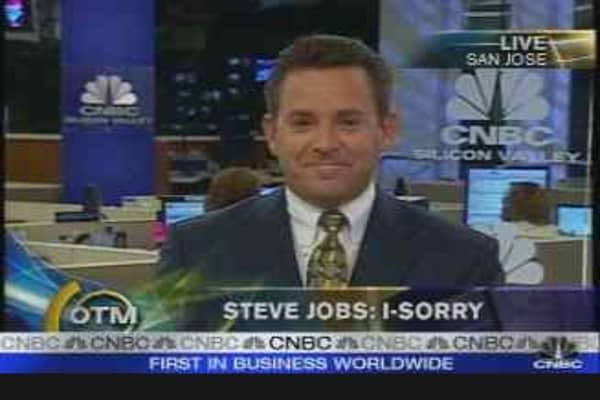 Steve Jobs: i-Sorry