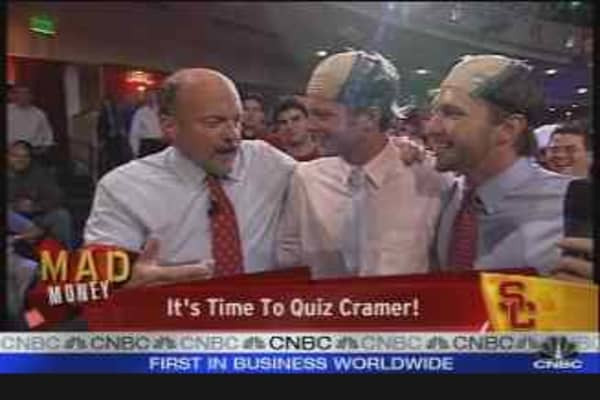 USC Students Quiz Cramer