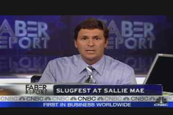 Slugfest for Sallie Mae
