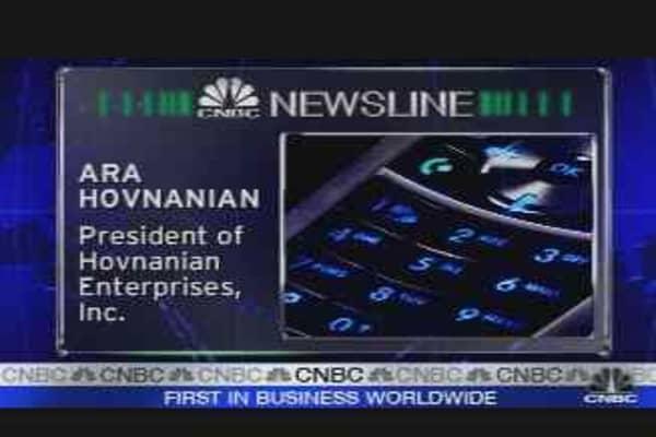 Ara Hovnanian Interview