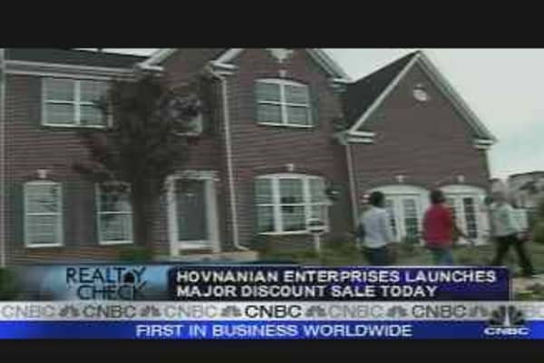 Realty Check: Hovnanian Sale