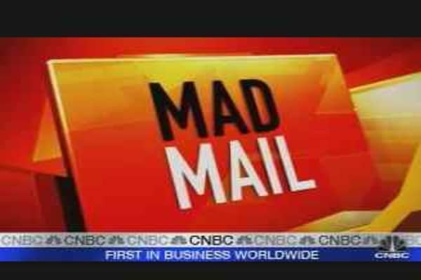 Cramer's Mad Mail