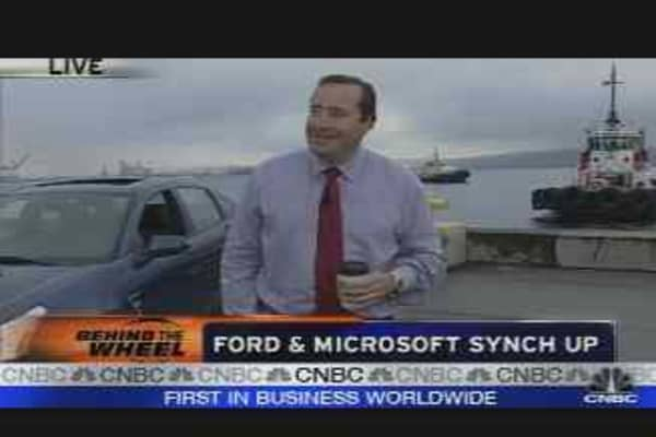 Ford & Microsoft Synch Up