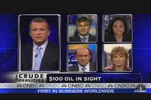 $100 Oil in Sight