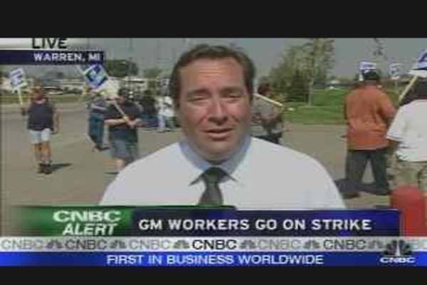 GM Workers on Strike